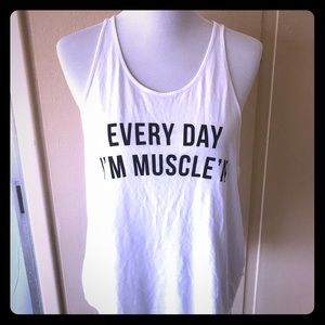 UNDER ARMOUR Everyday I'm Muscle'N workout tank